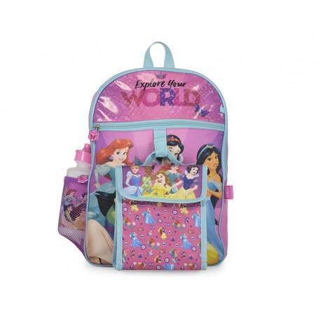 Mochila Disney Princesas Rosa