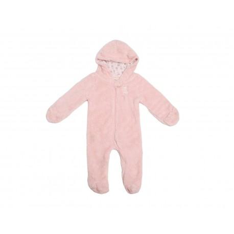 Mameluco Bam-Bu Rosa para Bebé Niña