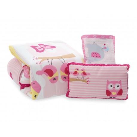 Coordinado para Cuna marca Baby Colors Love