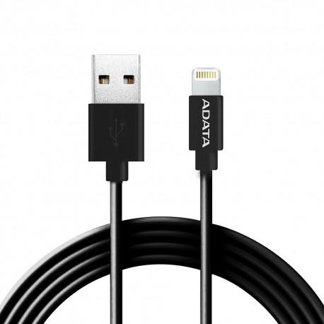 Cable Lightning Adata AMFIPL-1M-CBK Negro