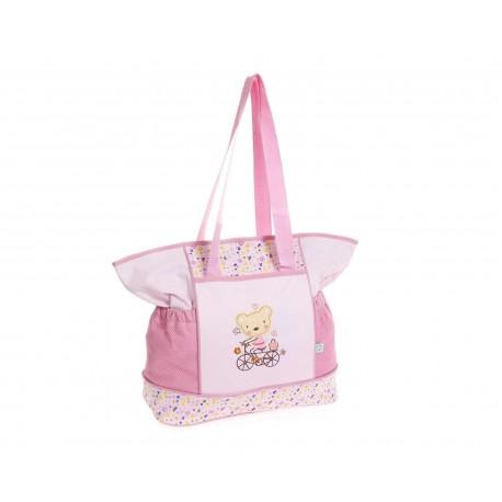 Pañalera Rosa marca Baby Colors para Bebé Niña
