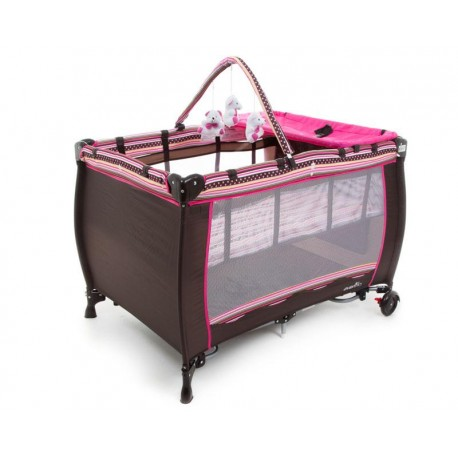 Cuna Viajera Evenflo Sweet Dreams Pink
