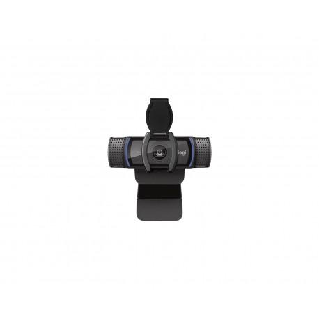 Webcam Logitech C920s Negro Panorámica 1080P Micrófono Usb 2.0