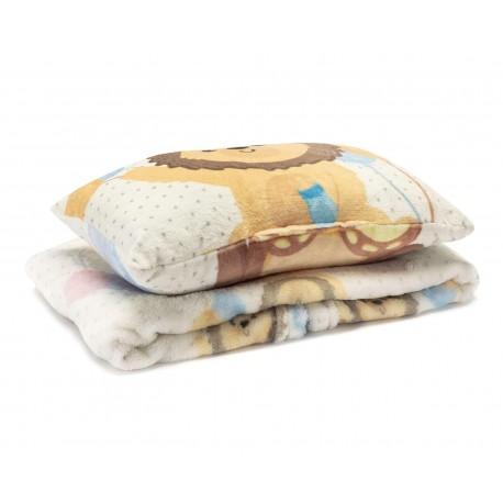 Cobertor Blanco marca Baby Colors para Bebé Niño