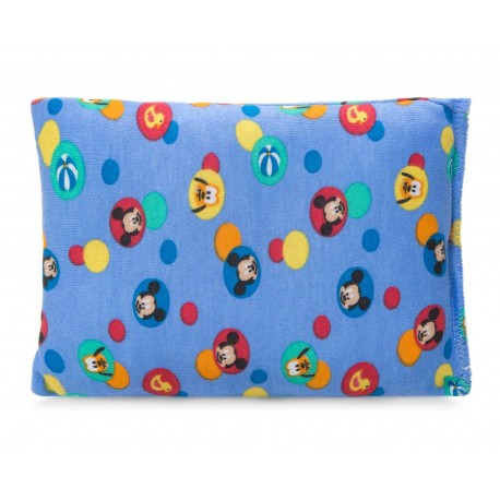 Almohada Azul marca Disney Micket Mouse para Bebé Niño