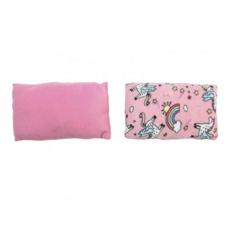Almohadas Rosas marca Baby Colors para Bebé Niña (2 Piezas)