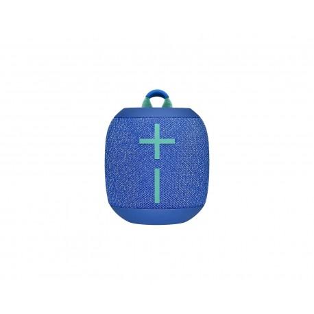 Bocina Logitech Wonderboom Bluetooth 3.5Mm Microusb 8.5 W color Azul