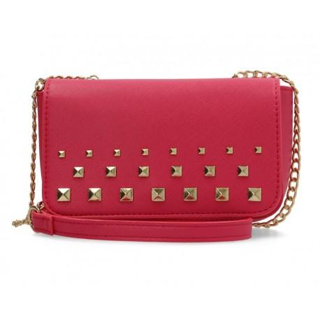 Bolsa Cruzada marca Girls Attitude color Rosa Juvenil