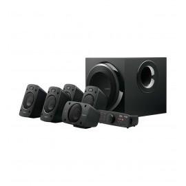 Bocinas Alámbricas Logitech Z906 color Negro de 500 W RMS