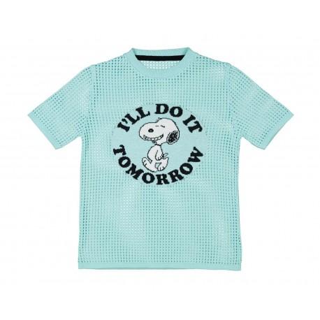 Blusa Azul marca Peanuts Juvenil
