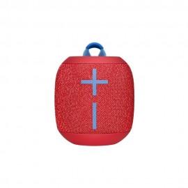 Bocina Logitech Wonderboom color Rojo de 3.5 mm con Bluetooth de 8.5 W