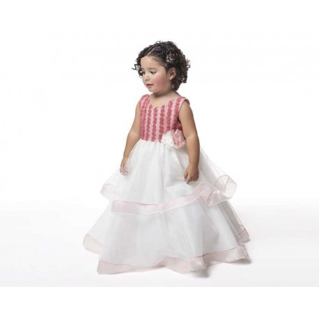 Vestido Rosa marca Baby Colors para Bebé Niña
