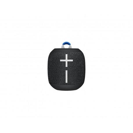 Bocina Logitech Wonderboom Bluetooth 3.5mm Microusb 8.5W color Negro