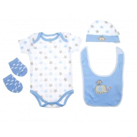 Playera Cuello Redondo marca Baby Colors para Bebé Niña