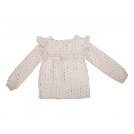 Blusa de Algodón marca Baby Colors para Bebé Niña