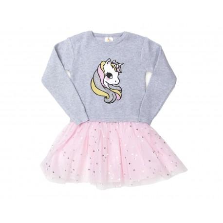 Vestido marca Baby Colors color Rosa para Bebé Niña