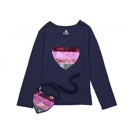 Blusa marca Girls Attitude color Azul para Niña
