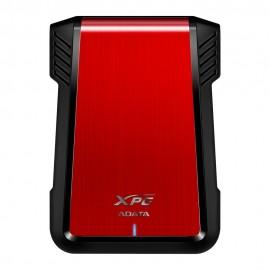 Case Adata Ex500 color Rojo Sata 3.0 Hdd / Ssd USB 2.0