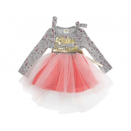 Vestido Floral marca Baby Colors para Bebé Niña