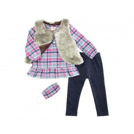 Conjunto con Pantalón Baby Colors para Niña