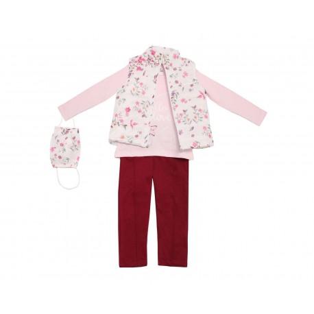Conjunto con Leggings Baby Colors para Niña