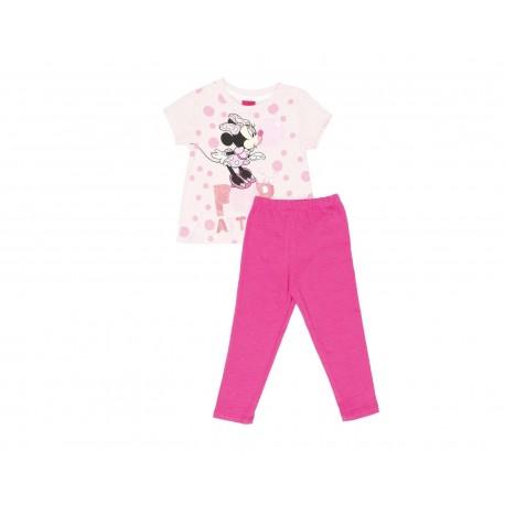 Conjunto Disney Minnie Mouse de Algodón para Bebé Niña