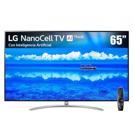 "Pantalla LED LG 65"" Ultra HD 4K  NanoCell TV AI ThinQ Smart TV 65SM9500PUA"